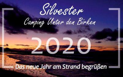 HAPPY NEW YEAR 2020 AM STRAND ERLEBEN